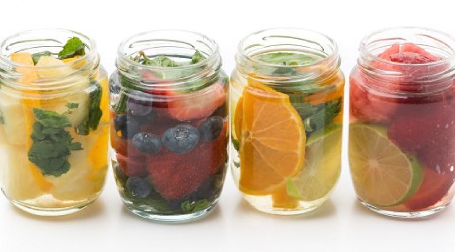 10 boissons détox pour s'affiner avant l'été -bodysculptor-La détox water